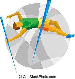 Track-and-field athletics - Pole Vault