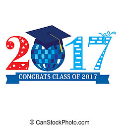 Class of 2017 - Congrats Class of 2017 with a discoball in...
