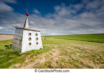The smallest museum of the Netherlands - Lost in the vast...