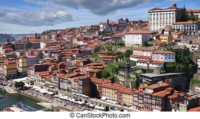 Porto city at sunny summer day - Porto city view at sunny...