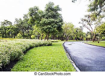 Garden in the Suan Luang Rama IX Public Park