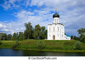 Church of Intercession on River Nerl - Church of the...