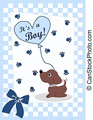 newborn baby card for boys