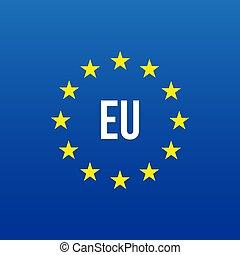 EU logo. European union vector