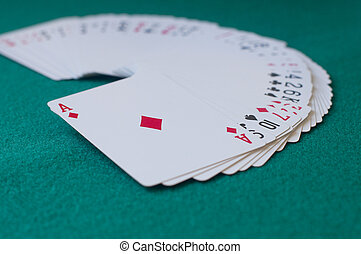 Deck of cards - A deck of poker cards
