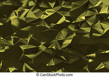 Low poly digital geometric background - Abstract low poly...