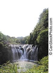 Shifen waterfall in Shifen, Taipei, Taiwan