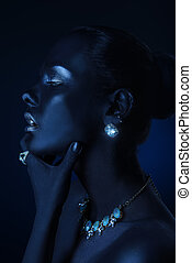 brilliance luxury jewelry - Beauty, fashion portrait....
