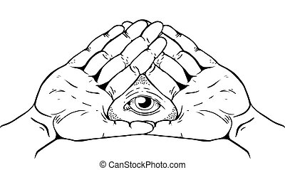 Illuminati Sign - Eye of God - Illuminati, Magic and Occult...