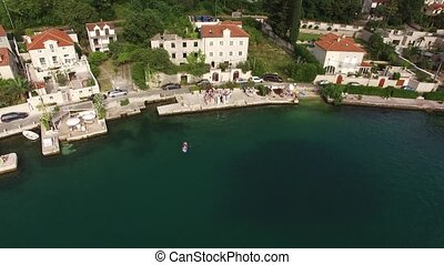 The villa is in the village of Ljuta. Montenegro, Kotor Bay,...