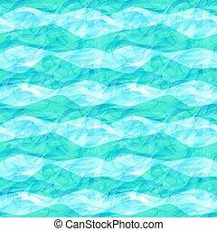 Sea seamless pattern, vector illustration