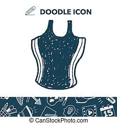 swimwear doodle