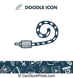 doodle Celebrate horn