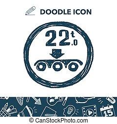 Maximum weight per axle. doodle