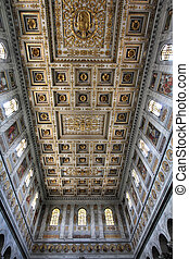 Rome - San Paolo basilica - Rome, Italy - famous Papal...