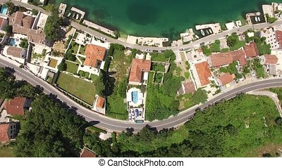 Villa with pool in the village of Ljuta. Montenegro, Bay of...