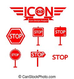 Stop Sign Icon