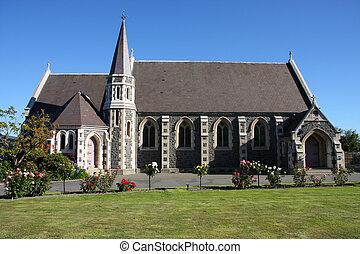 Christchurch - St. James Anglican church in Christchurch,...