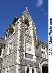 Christchurch Arts Centre - old landmark in Christchurch, New...