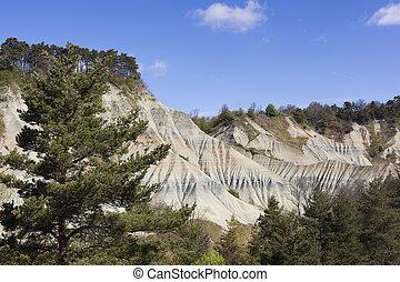 Le Ravin de Corboeuf, Rosieres, Haute Loire, France