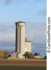 Old Silo - large storage silo of a farm
