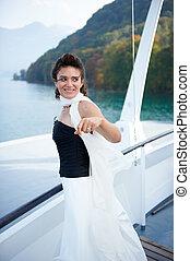 Bride on a Ship