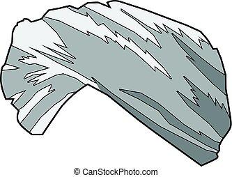 turban - vector illustration of turban
