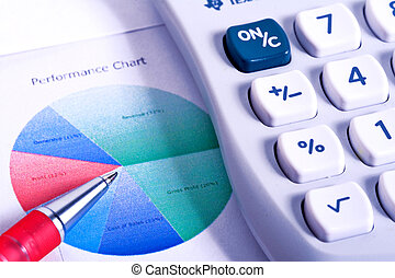 Calculator and Financial Figures - A Calculator and...