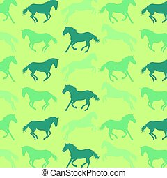 Horse pattern abstract vector