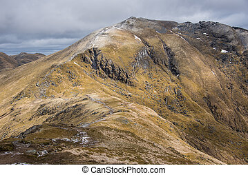 Walkers heading to Ben Lawers - Ben Lawers is the highest...