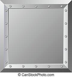 plaque - metal plaque