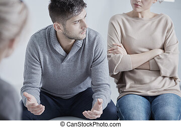Problems in marriage - Young people with problems in...