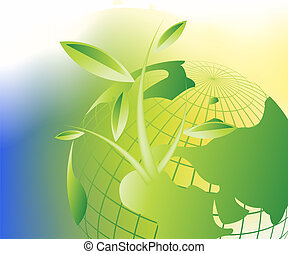 theme of growth - Plant Growth Background, theme of growth...