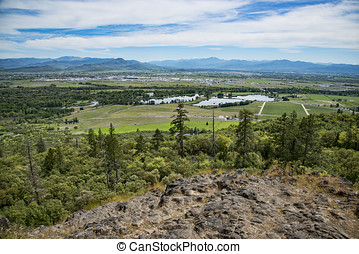 Table Rock, Oregon - View from top of Table Rock upper...