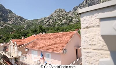 Villa by the sea. Montenegro, Kotor Bay, Adriatic sea