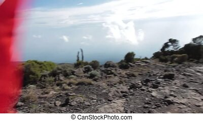 Broke the camera on the slope of Mount Kilimanjaro - Track...