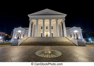 Virginia State Capitol - Richmond, Virginia - The Virginia...