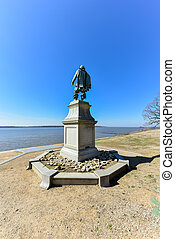 Captain John Smith - Jamestown - Statue by William Couper in...