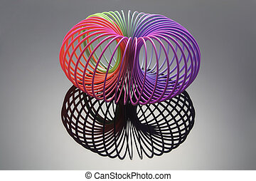 Slinky with Reflection
