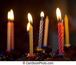 蜡燭, 生日, 愉快
