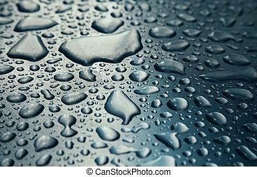 Raindrop background texture