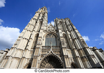 Antwerp - Cathedral of Our Lady in Antwerp, Belgium...
