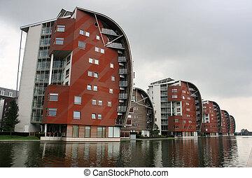 Bosch - Modern residential architecture in 's-Hertogenbosch...