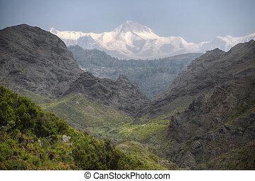 Mount Annapurna - views of Mount Annapurna Himalayas, Nepal,...