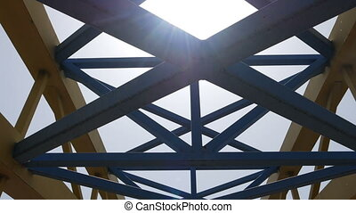 Bridge Construction against sky