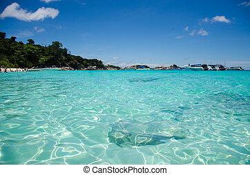 Similan Island - Beautiful sea at Similan island Thailand.
