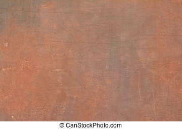 Old cracked ocher wall. - Background of stone wall texture....