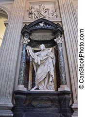 St. Bartholomew in San Giovanni in Laterano, in Rome - The...