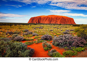 Ayers Rock - Ayers rock I Australia out back