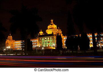 Bangalore - The state legislature building, the Vidhana...